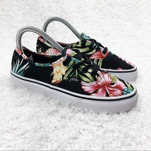 Vans Floral Lace Up Shoes